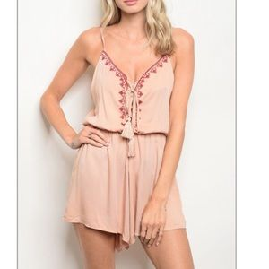Dresses & Skirts - Romper with Adjustable Straps Brand New with Tags